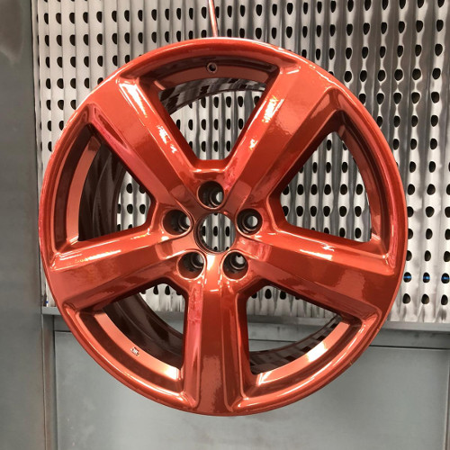 Alloy Wheel Power Coating After Picture